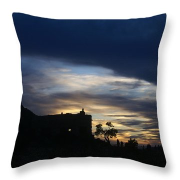 The Watch Tower Throw Pillow