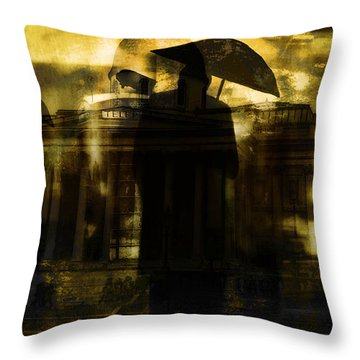 The Watchmen  Throw Pillow by Andrew Hunter