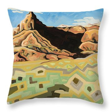 The Watchtower Throw Pillow by Dale Beckman