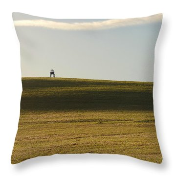 The Watchtower Throw Pillow by Richard Reeve