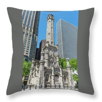 The Water Tower Throw Pillow