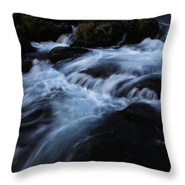 The Waters Of Kirkjufell Throw Pillow