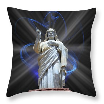Throw Pillow featuring the photograph The Way by Shane Bechler