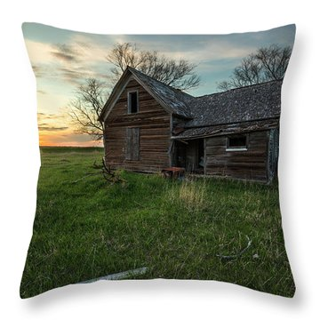 Throw Pillow featuring the photograph The Way She Goes by Aaron J Groen