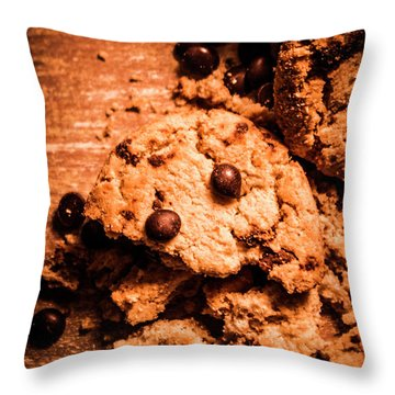 The Way The Cookie Crumbles Throw Pillow