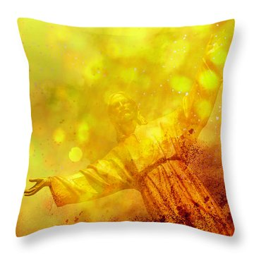 Throw Pillow featuring the photograph The Way, The Truth, The Life by Joel Witmeyer