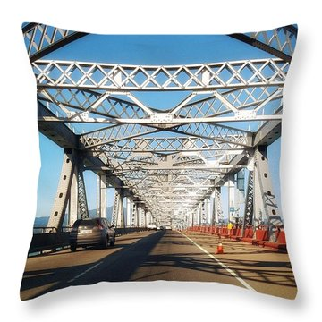 The Way To New Orleans Throw Pillow