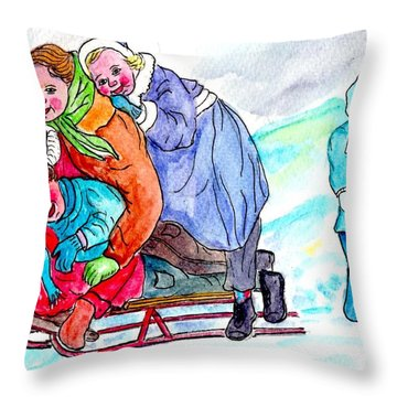 The Way We Were Throw Pillow by Philip Bracco