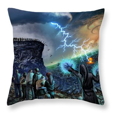 The Weak Shall Bring Us Down Throw Pillow