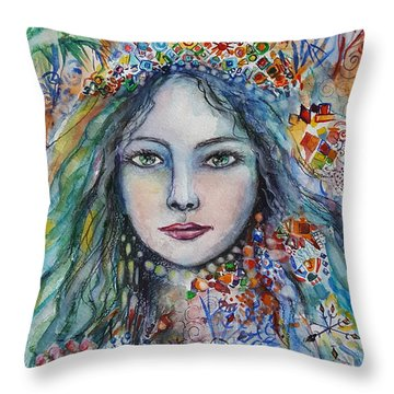 Wealth Of Winter Throw Pillow