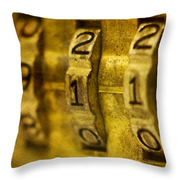 The Web Of Nine Eleven  Throw Pillow