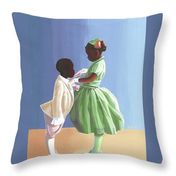 The Wedding Throw Pillow
