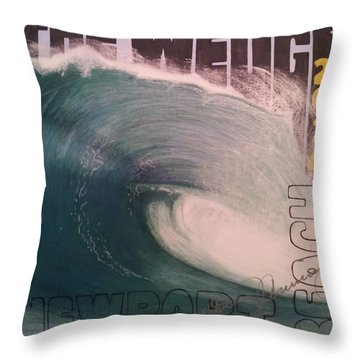The Wedge 2014 Throw Pillow