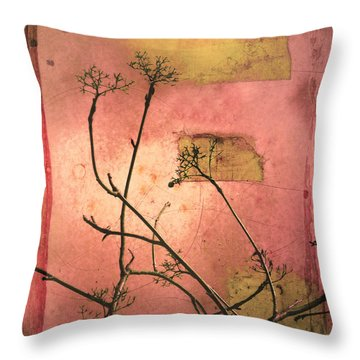 The Weeds Throw Pillow by Tara Turner