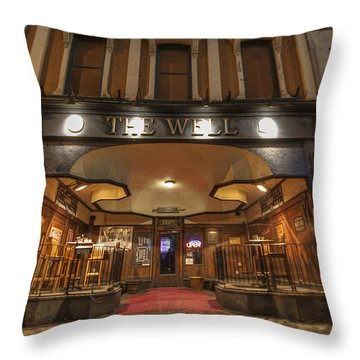 Throw Pillow featuring the photograph The Well by Nicholas Grunas