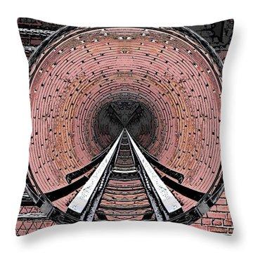 The Well Throw Pillow by Tim Allen