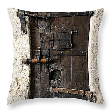 The Wells Throw Pillow