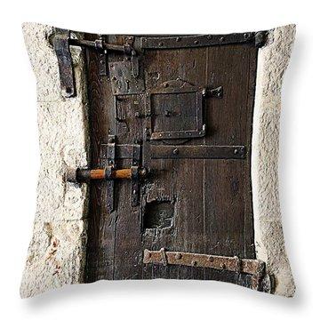 The Wells Throw Pillow