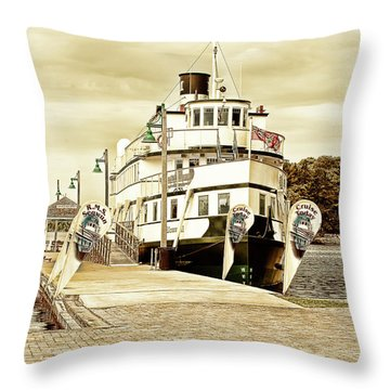 The Wenonah II Throw Pillow