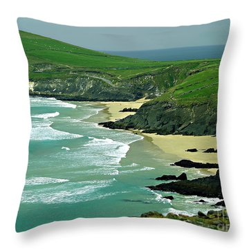 The West Coast Of Ireland Throw Pillow by Patricia Griffin Brett
