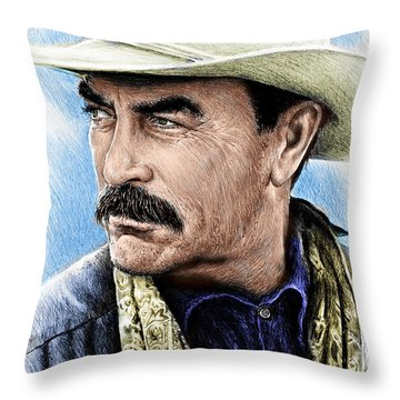 The Western Collection Monty Walsh Throw Pillow