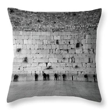 The Western Wall, Jerusalem 2 Throw Pillow