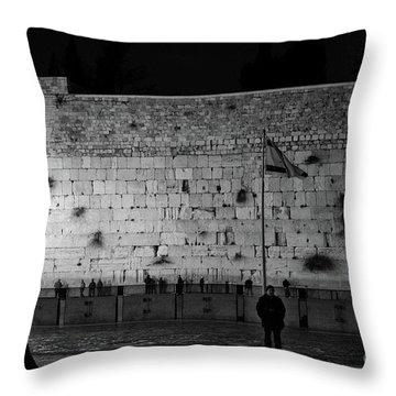 The Western Wall, Jerusalem Throw Pillow