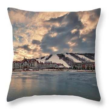 The Westin Hotel Throw Pillow
