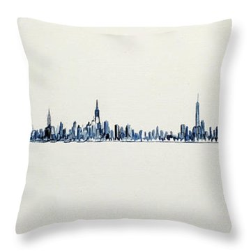 The Westside Throw Pillow