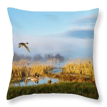 The Wetlands Throw Pillow