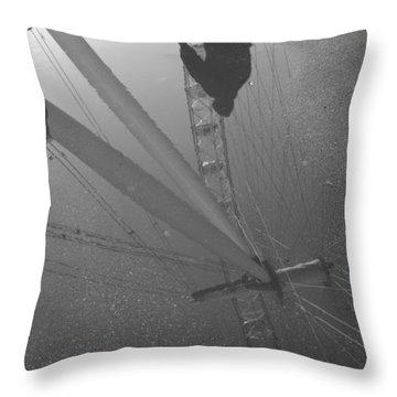 The Wheel Of Life Throw Pillow