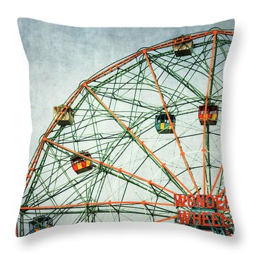The Wheel Of Time Throw Pillow