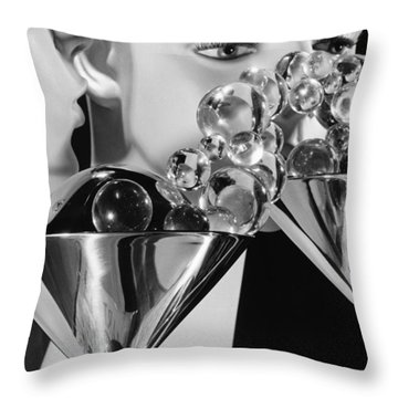 The Whisper Throw Pillow