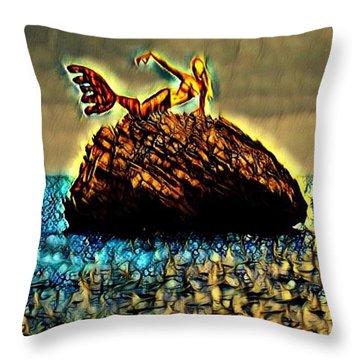 The Whisperer Throw Pillow