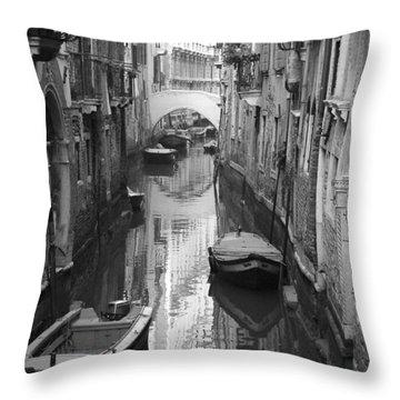 The White Bridge Throw Pillow