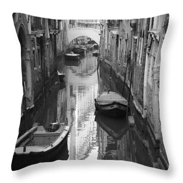 The White Bridge Throw Pillow