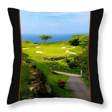 The White Witch Jamaica Throw Pillow