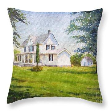 The Whitehouse Throw Pillow
