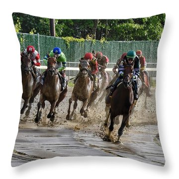 Diversify Winning The Whitney 2018 Throw Pillow