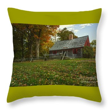 The Wick House Throw Pillow