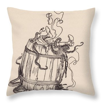The Wicked Mother-in-law Was Put Into A Throw Pillow