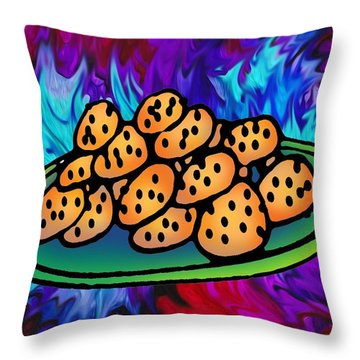 The Wicked Witch's Cookies Throw Pillow