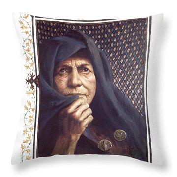 The Widow's Mite - Lgtwm Throw Pillow