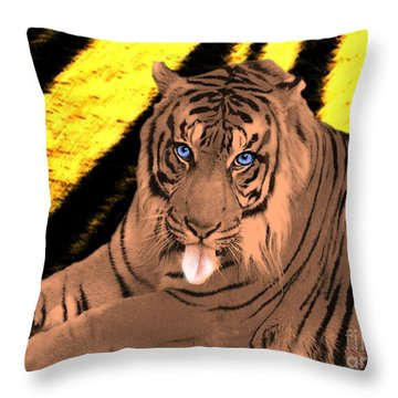 The Wild Throw Pillow