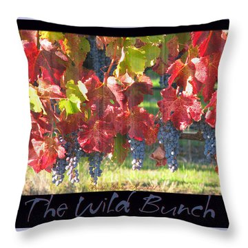 Throw Pillow featuring the photograph The Wild Bunch by Brooks Garten Hauschild
