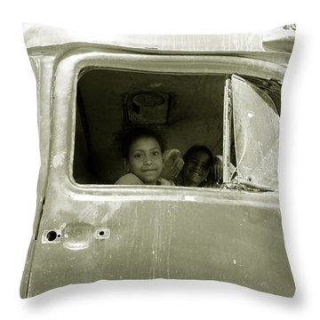 The Wild Ride Throw Pillow