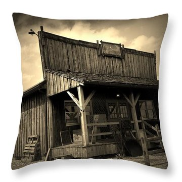 The Wild West Throw Pillow