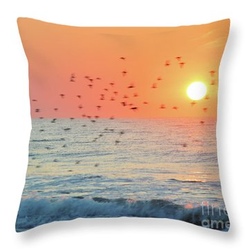 The Wind Calls My Name Throw Pillow