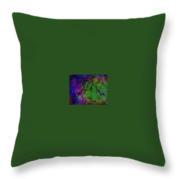 The Wind Throw Pillow by Kelly Turner