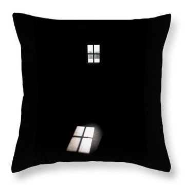 The Window Throw Pillow by Jouko Lehto